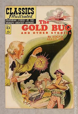 Classics Illustrated 084 The Gold Bug and Other Stories #2 1964 VG- 3.5