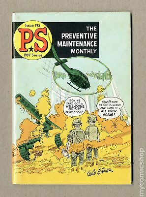 PS The Preventive Maintenance Monthly #195 1969 FN 6.0