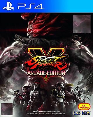 New Sony PS4 Game Street Fighter V ARCADE EDITION HK Version Chinese English