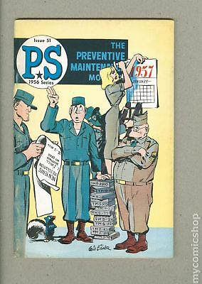 PS The Preventive Maintenance Monthly #51 1957 VG- 3.5