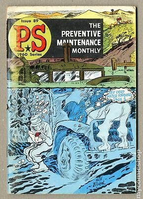 PS The Preventive Maintenance Monthly #89 1960 VG- 3.5