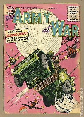 Our Army at War #47 1956 FR/GD 1.5