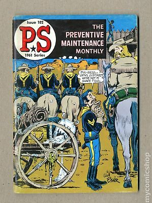 PS The Preventive Maintenance Monthly #102 1961 VG/FN 5.0