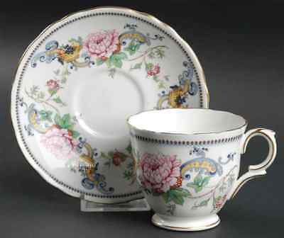 Crown Staffordshire CHELSEA MANOR Cup & Saucer 94716