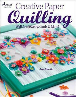 Creative Paper Quilling, wall art, jewelry, cards and more!// Englisch