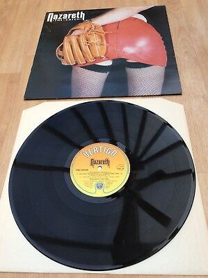Nazareth - The Catch - EX VINYL LP Record - See Pictures