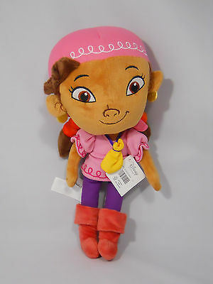 """Disney Store Izzy Plush Doll 11"""" Jake and the Never Land Pirates"""