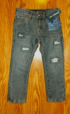 NEW LUCKY BRAND Boy's Jeans Size 4 Billy Straight  blue Adjustable Waist