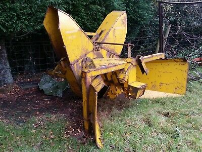 Tractor Or Unimog Or Fastrac Mounted Snow Blower/ Plough- No Reserve- Choise Of2