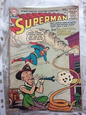 DC Comics Superman #96 March 1955 Space Filler?