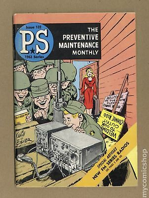 PS The Preventive Maintenance Monthly #132 1963 FN 6.0
