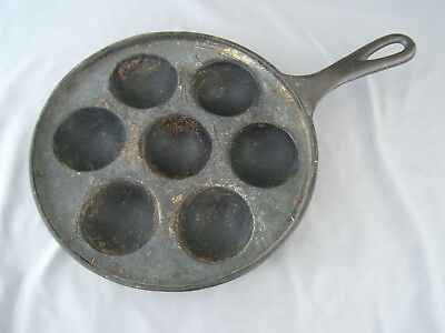 Vintage Western Importing Co Griswold Munk 2992 Cast Iron Pan