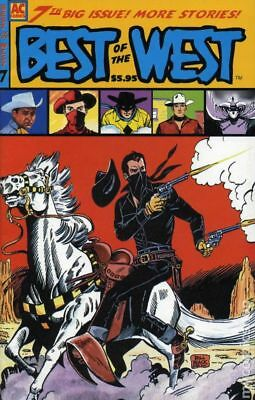 Best of the West (AC Comics) #7 1999 VF Stock Image