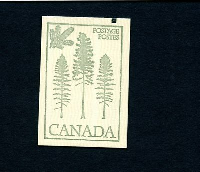 Lot 66627 Canada  Mint Nh Booklet 78 Variety Counter Tab