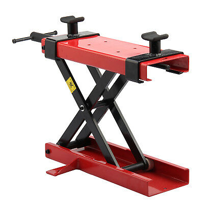 500KG Motorcycle Motorbike Bike Stand Scissor Lift Jack  Workshop Bench