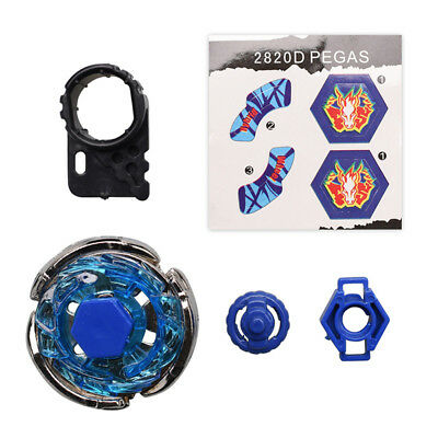Hot Storm Pegasus Battle Metal 4D Beyblade Fight Fusion Master BB28 Gyro Gift FE