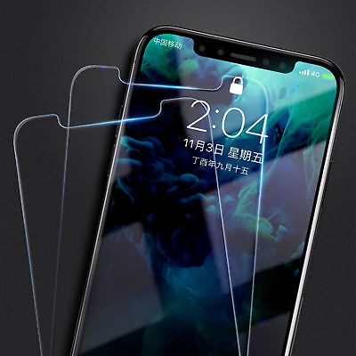 2-Pack For iPhone 7/8 / 7/8 Plus Tempered GLASS Screen Protector Bubble Free