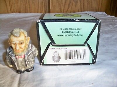 "(X) Harmony Kingdom Pot Bellys ""ABRAHAM LINCOLN- -NIB"