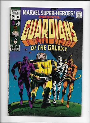 Marvel Super-Heroes #18 [1969 Vg+] 1St Guardians Of The Galaxy!
