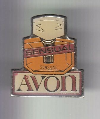 Rare Pins Pin's .. Beaute Parfum Perfume Avon  Sensual Flacon Bottle ~Dn