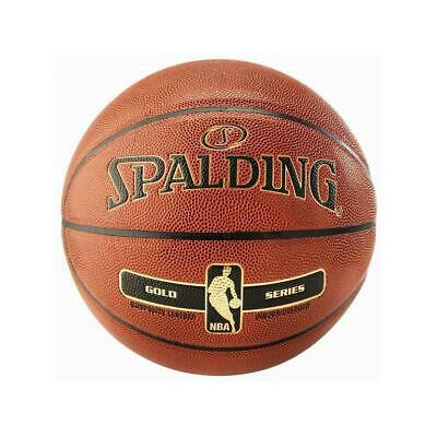 Spalding Basketball NBA GOLD Indoor Outdoor Matchball Spielball Herren Kinder