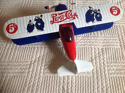 Gearbox Limited Edition Modified 1932 Stearman Coin Bank Pepsi Cola Coin Bank