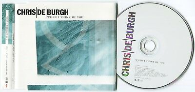 "Chris De Burgh ~ When I Think Of You ~ 1999 Uk 1-Track ""promo"" Cd Single"