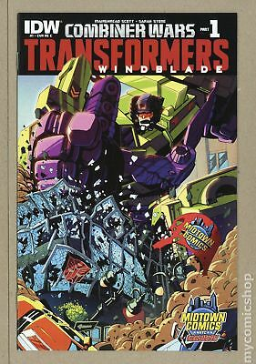 Transformers Windblade Combiner Wars 1REC.MIDTWN 2015 NM 9.4