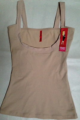 Nwt Spanx Strappy Go Lucky Natural Slimming Camisole 2322 Size Medium $68
