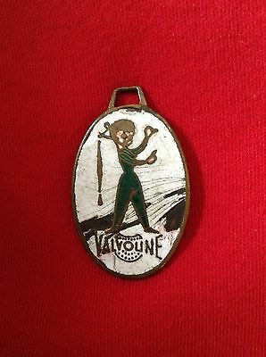 Vintage Valvoline watch/keychain  Fob (from France )
