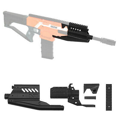 Worker MOD F10555 Halo M412 DMR 3D Print Barrel Jacket Kit for Nerf STRYFE Toy