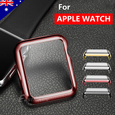 Apple Watch Screen Protector Case 38/42/40/44mm Front Cover iWatch 1 2 3 4 5