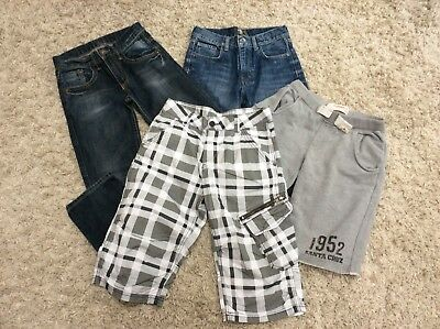 H&M/Next boy's shorts & jeans bundle, 11-13 years, 4 Items, VGC