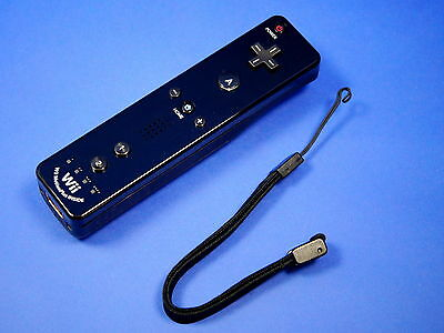 Original Nintendo Wii REMOTE Motion PLUS integriert black schwarz #55115