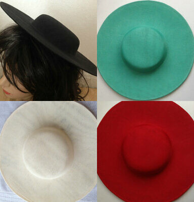 Hat Polyester Dipped  Base 30 cm Great for making fascinators party hats
