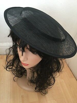 Sinamay Hat Base 31 cm Great for making Fascinators Party Hats