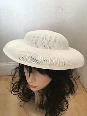 Hat Base 30 cm Great for making Fascinators Party Hats Imitation of Sinamay
