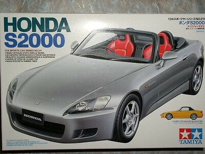 Tamiya 1/24 Honda S2000 Model Car Kit #24211