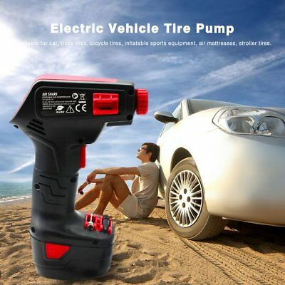 Portable Rechargeable Tire Inflatable Wireless Pump Electric Car 12V Compressor