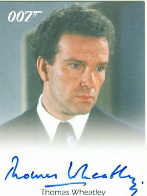 James Bond In Motion Full Bleed Autograph Card Thomas Wheatley