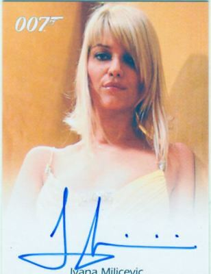 James Bond In Motion Full Bleed Autograph Card Ivana Milicevic