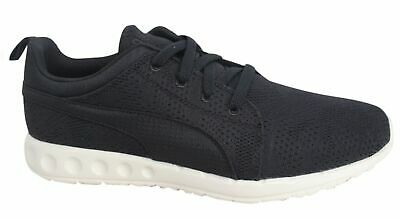 huge selection of f0f89 286b4 Puma Carson Runner Camo Mesh EEA Lace Up Black Mens Trainers 189173 14 D32