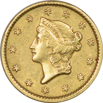 1851 $1.00 Gold - Ty I - High Grade Example!