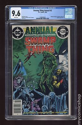 Swamp Thing (2nd Series) Annual #2 1985 CGC 9.6 1448444003