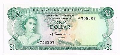 1974 BAHAMAS ONE DOLLAR NOTE - p35a