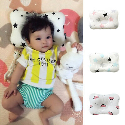 Baby Infant Newborn Sleep Positioner Support Pillow Cushion Prevent Flat Head UK