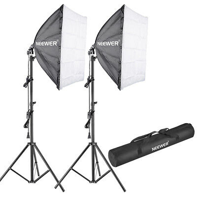 Neewer 700W Photography Studio Softbox Lighting Kit with 75 inch Light Stand