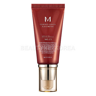 [MISSHA] M Perfect Cover BB Cream (SPF42/PA+++) 50ml #23 Natural Beige