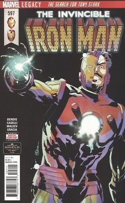 The Invincible Iron Man #597 Marvel Legacy 2018 Comic Book