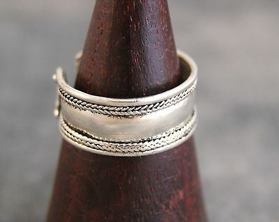 Ring aus Nepal ~ Coinsilver (473)